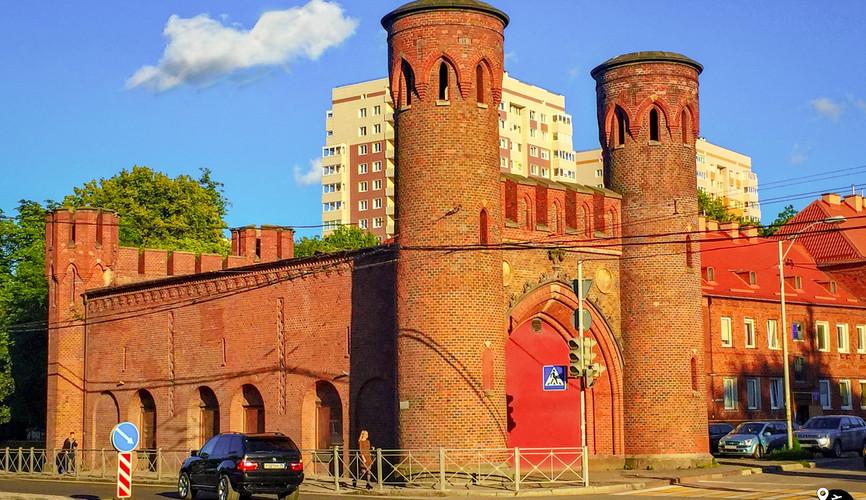 Закхаймские ворота, Калининград