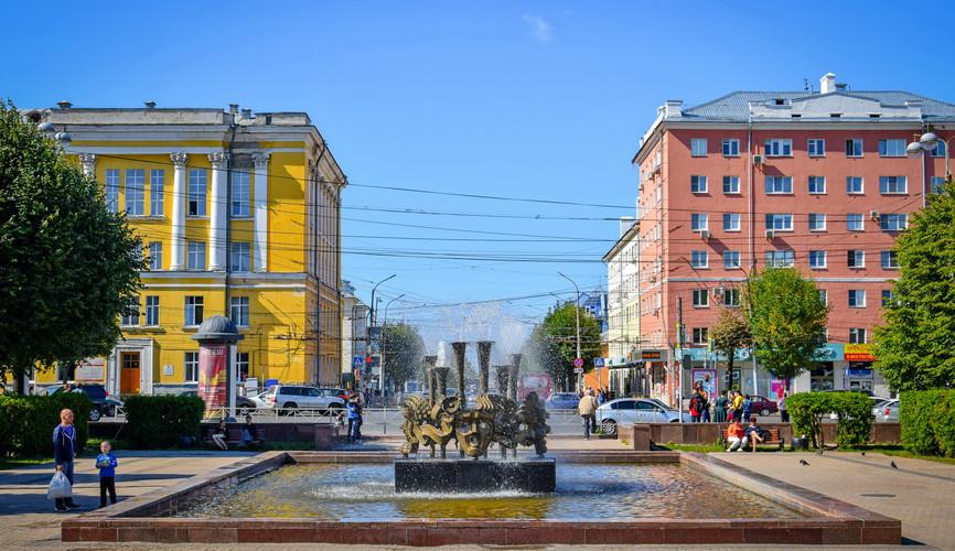 Театральная площадь, Рязань