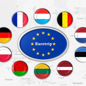 Европа 2018: итоги поездок (Europe 2018 trip's results)