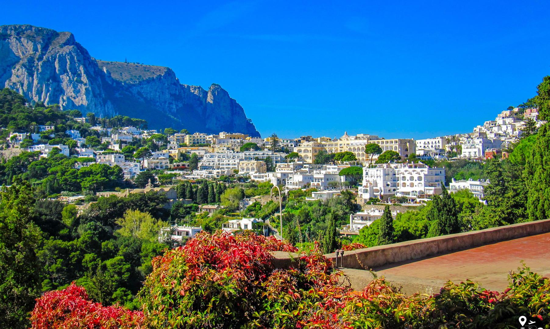 Панорама Капри