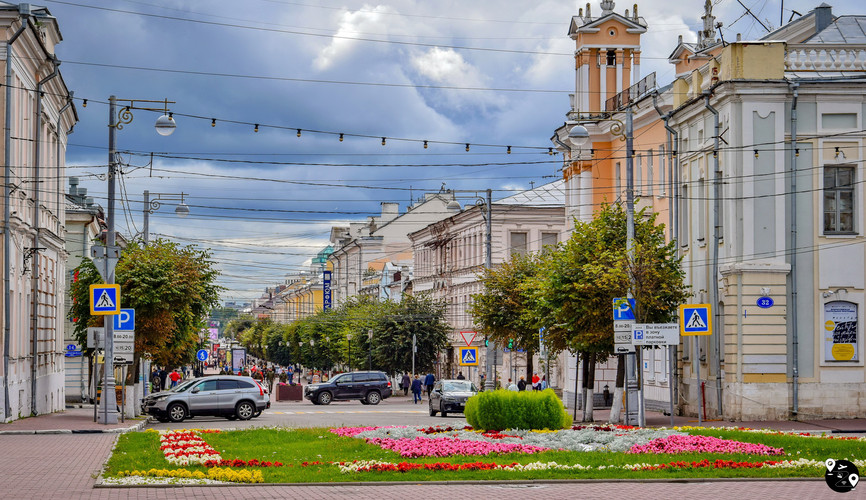 Трехсвятская улица, Тверь