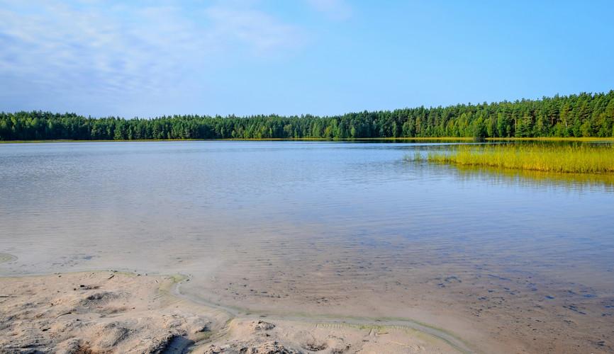 Ласковское озеро в Рязанской области