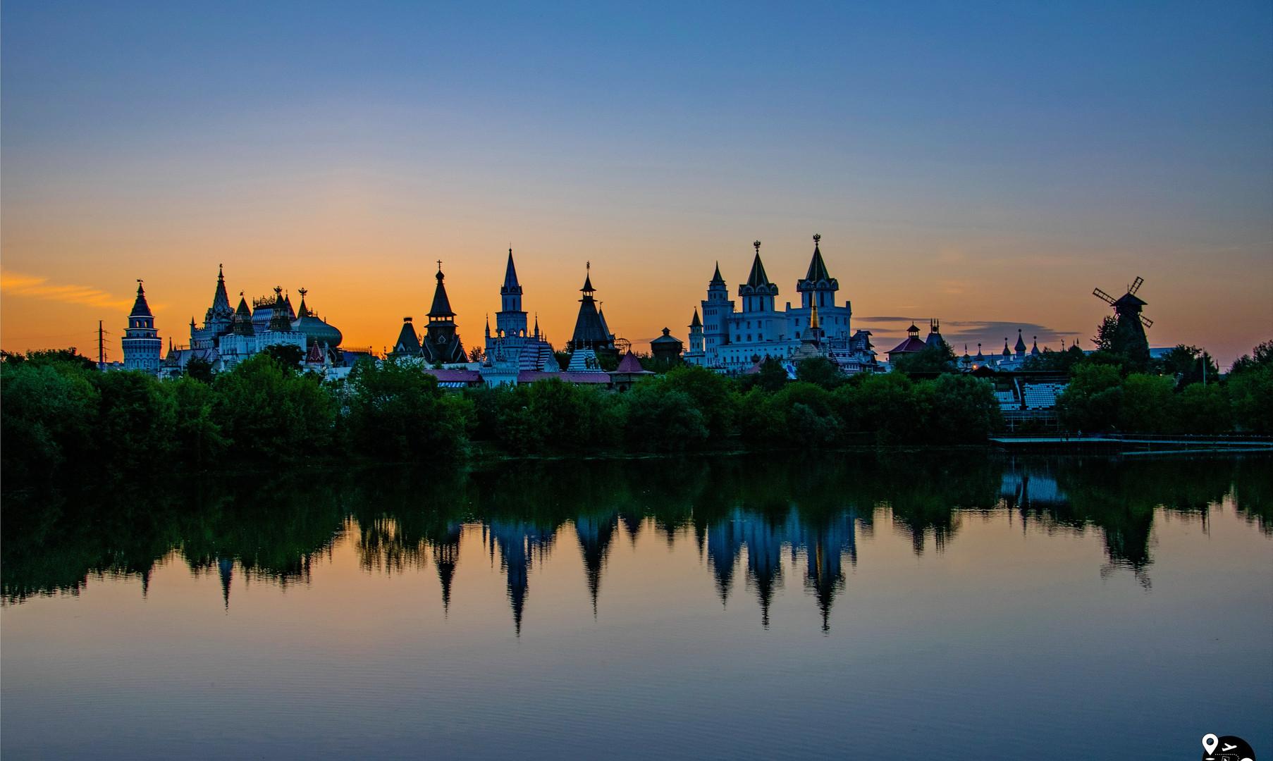 Панорама Измайловского кремля