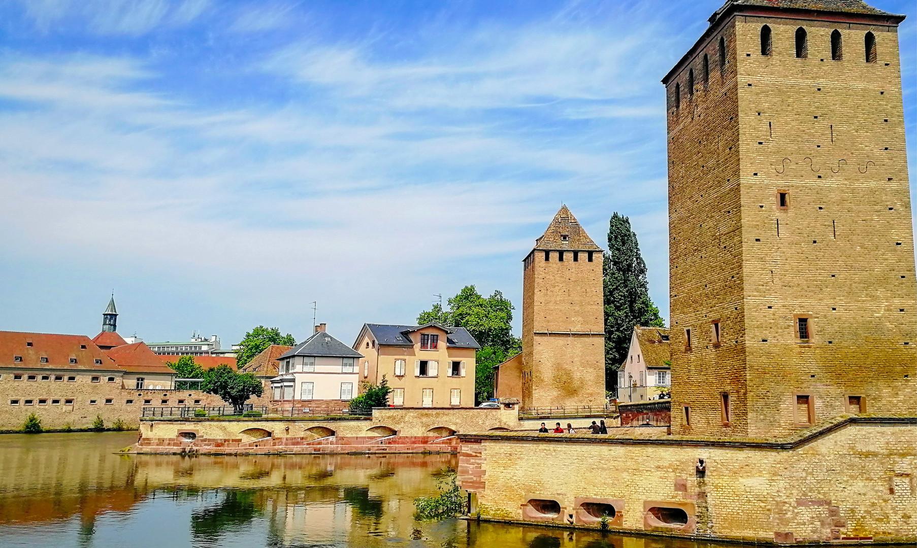 Сторожевые башни Страсбурга
