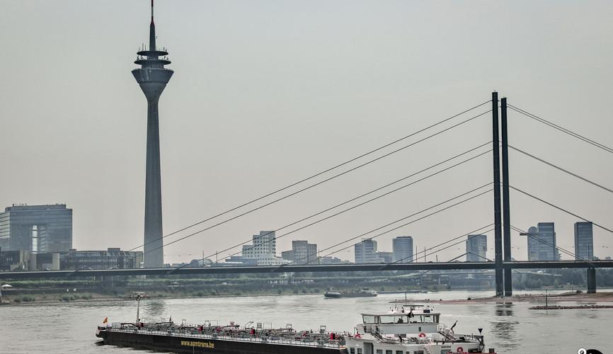 Панорама Дюссельдорфа