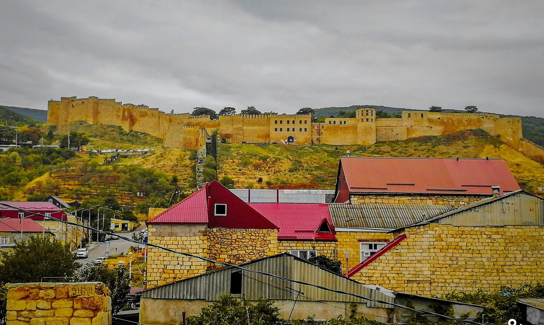 Панорама крепости Нарын-Кала, Дербент