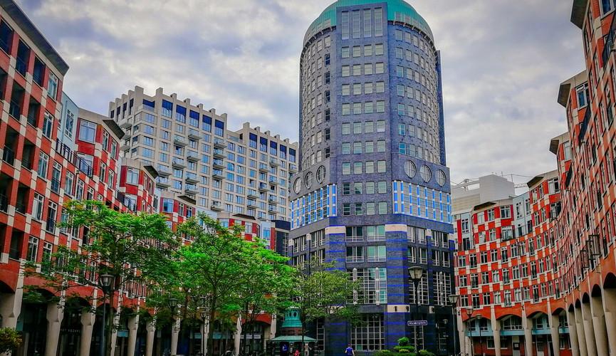 Современные жилые дома в Гааге