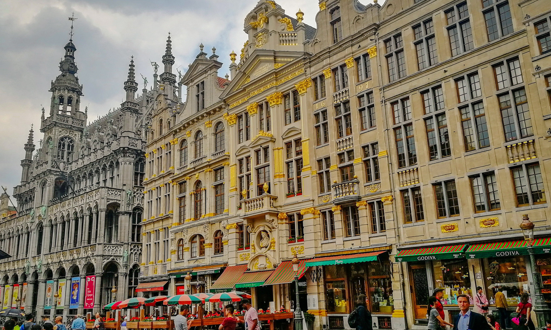 Центральная площадь, Брюссель