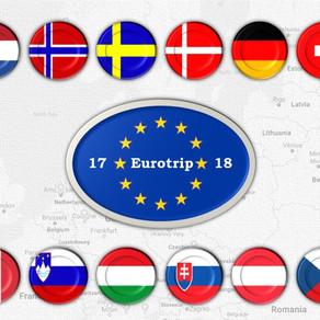 Eurotrip 2017-2018: путешествие начинается (Eurotrip 2017-2018 starts now)