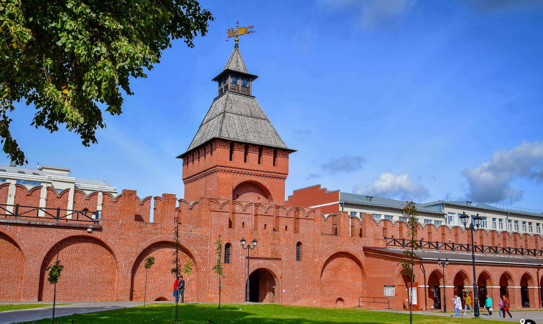 Стены Тульского кремля, Тула