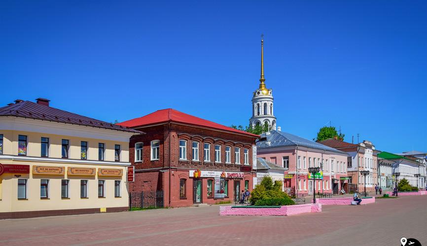 Центр города Шуя