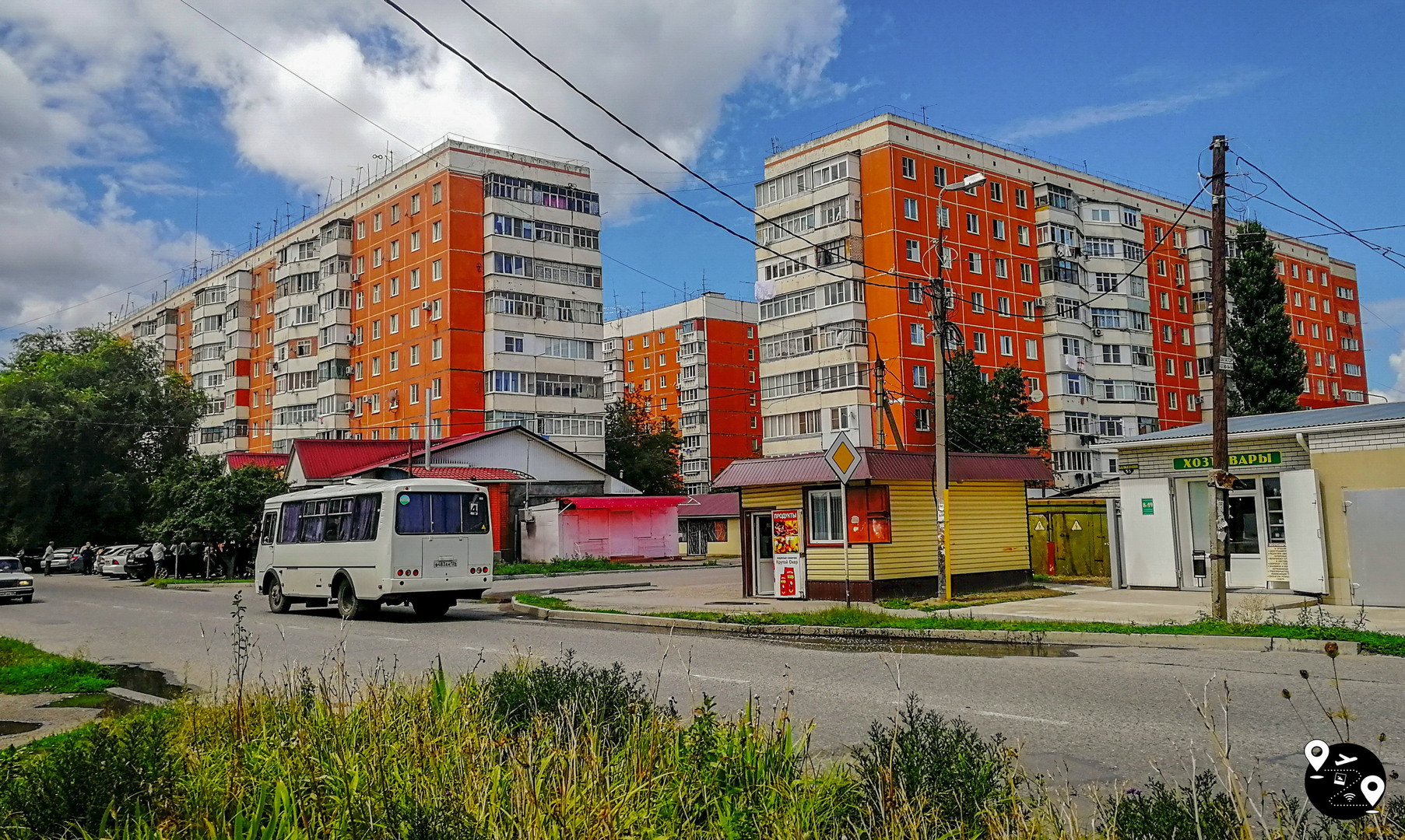 Жилые районы Черкесска