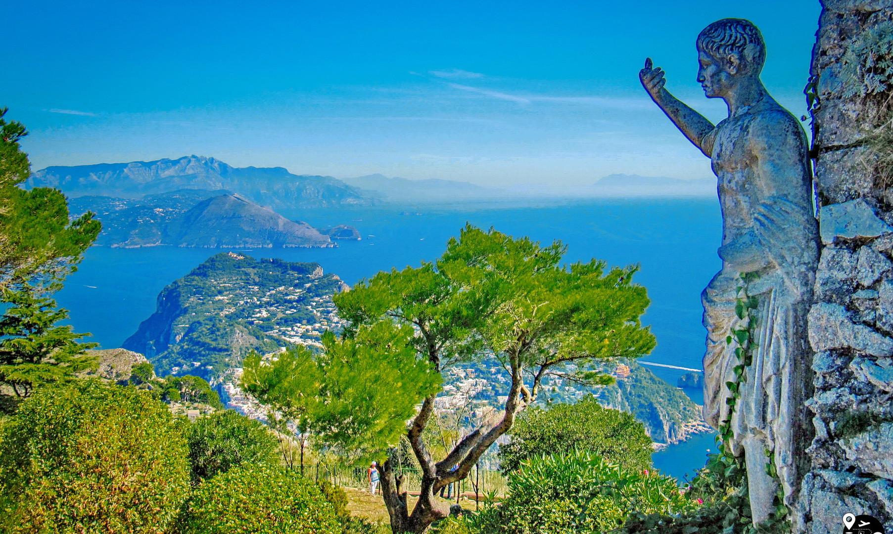 Пейзажи острова Капри
