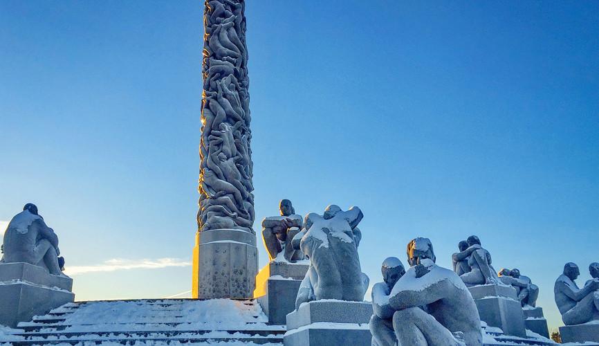 Парк скульптур Вигеланда, Осло