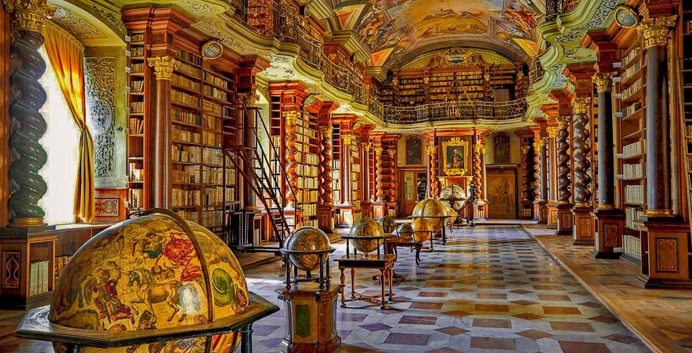 Библиотека Клементинум, Прага