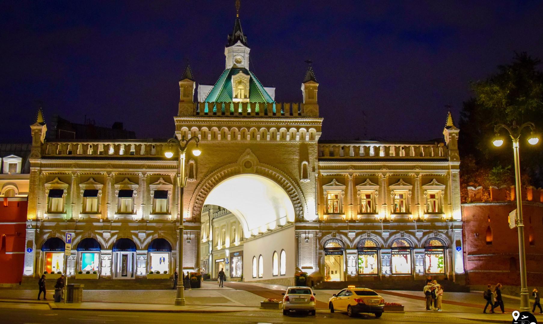 Третьяковский проезд, Москва