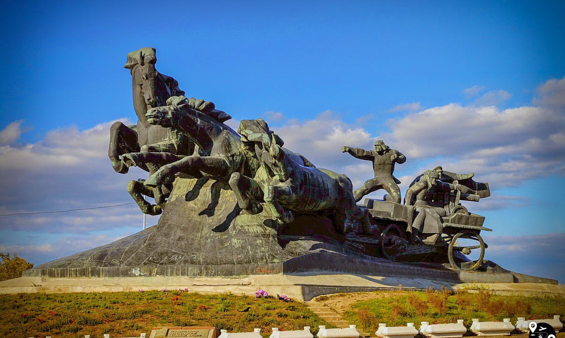 """Скульптура """"Тачанка"""", Ростов-на-Дону"""