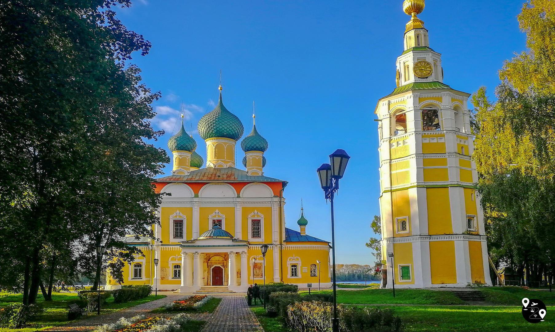 Угличский кремль, Углич