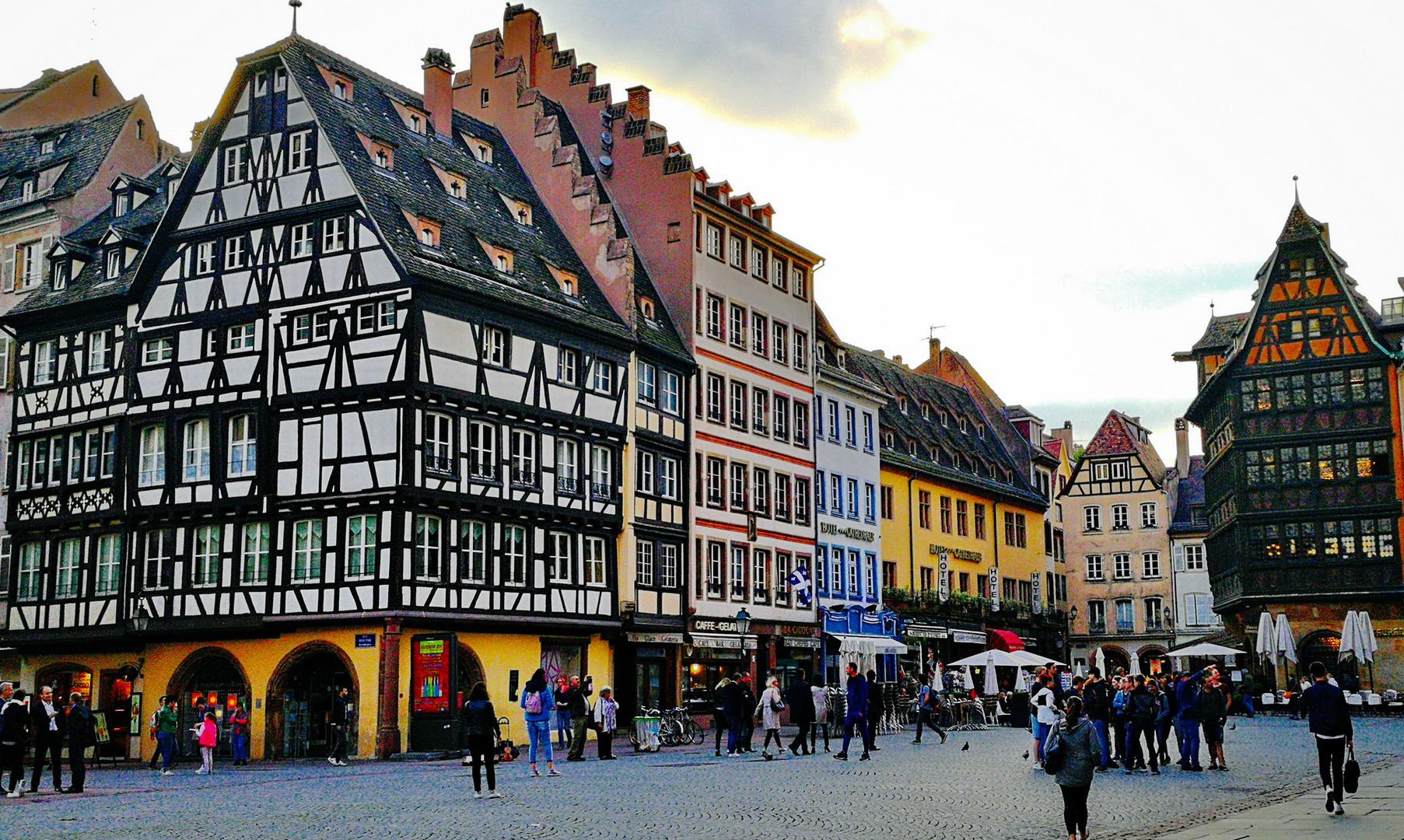 Центральная площадь, Страсбург