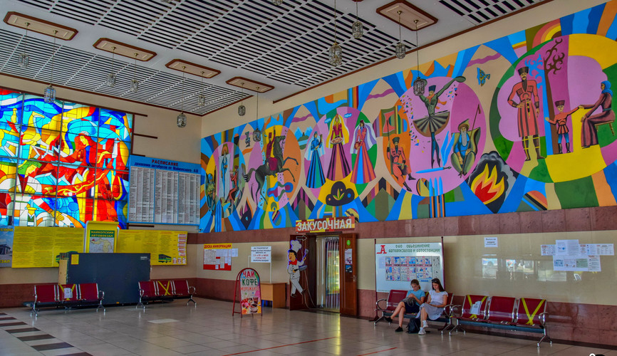Автовокзал в Майкопе