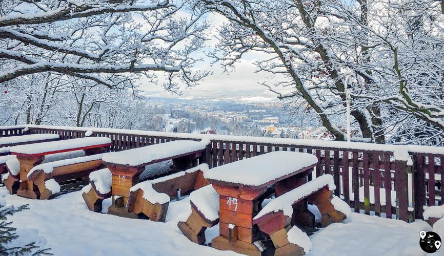Зимние пейзажи Чехии