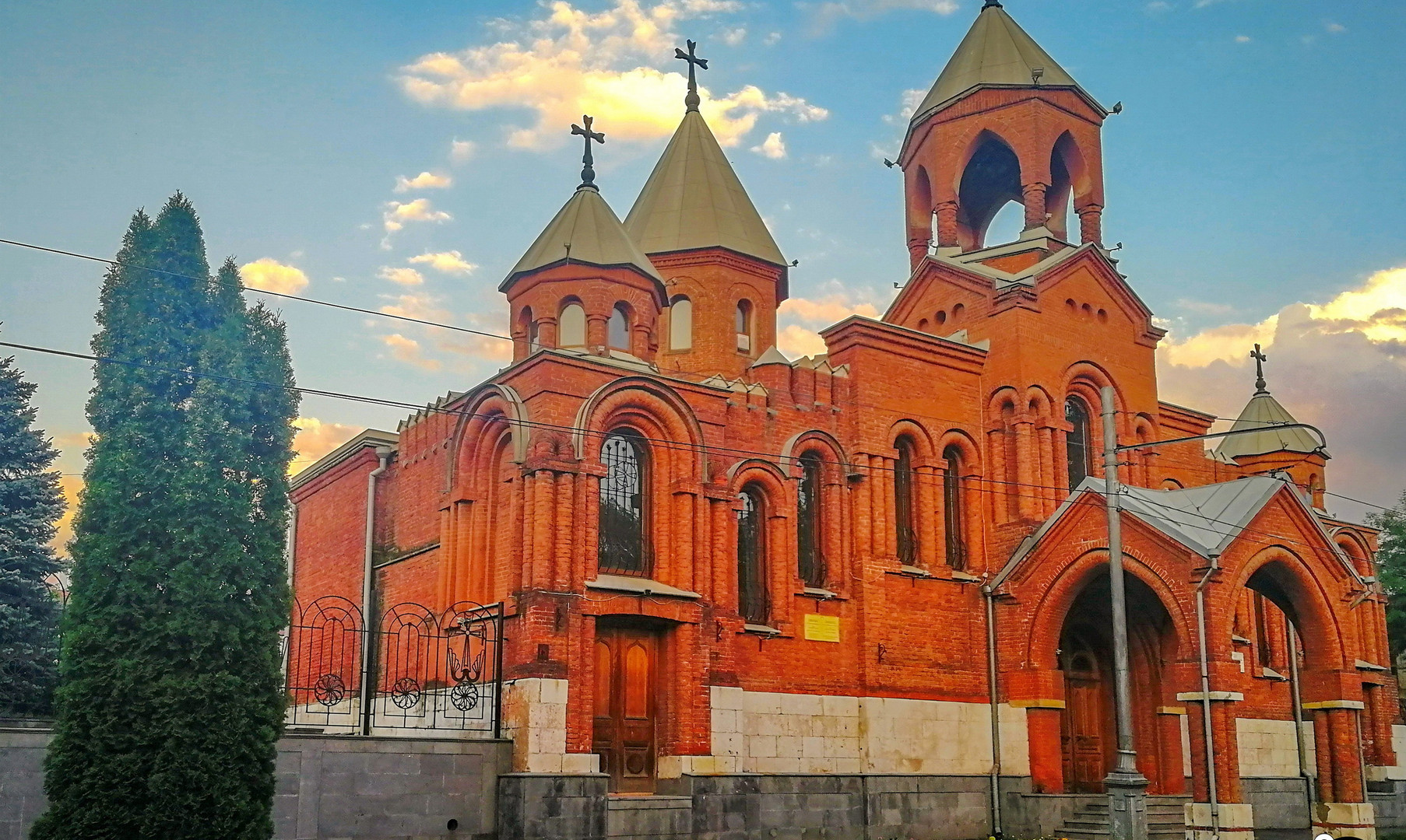 Армянская церковь, Владикавказ