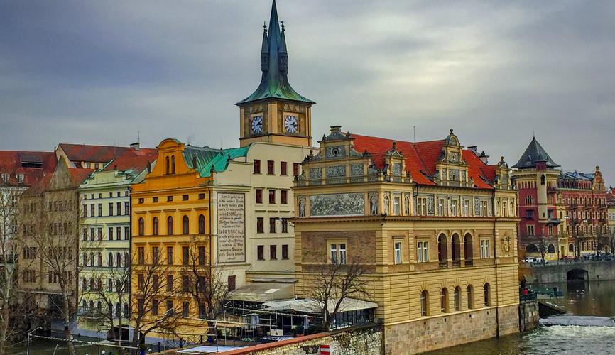 Центр города, Прага