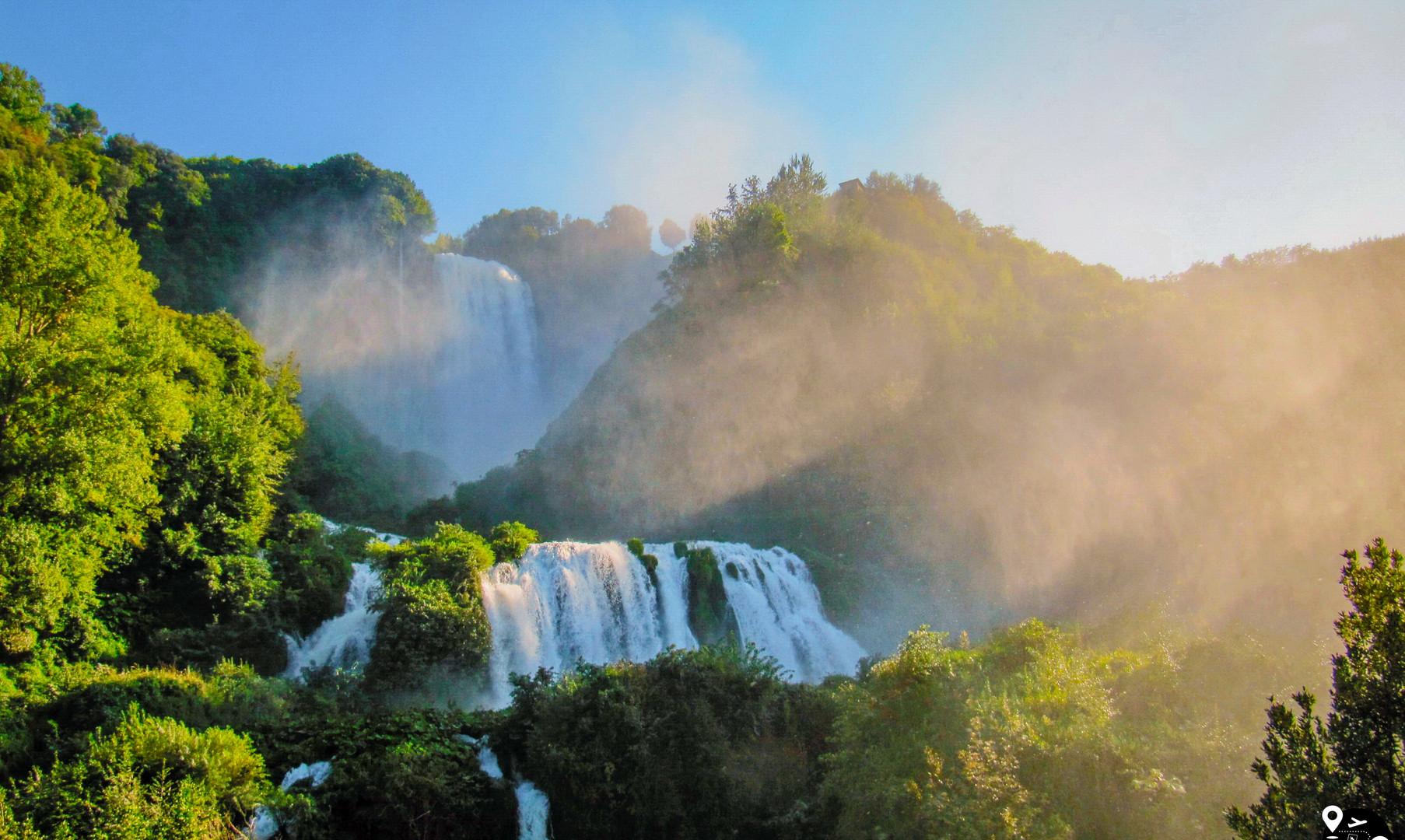 Водопады Марморе, Марморе