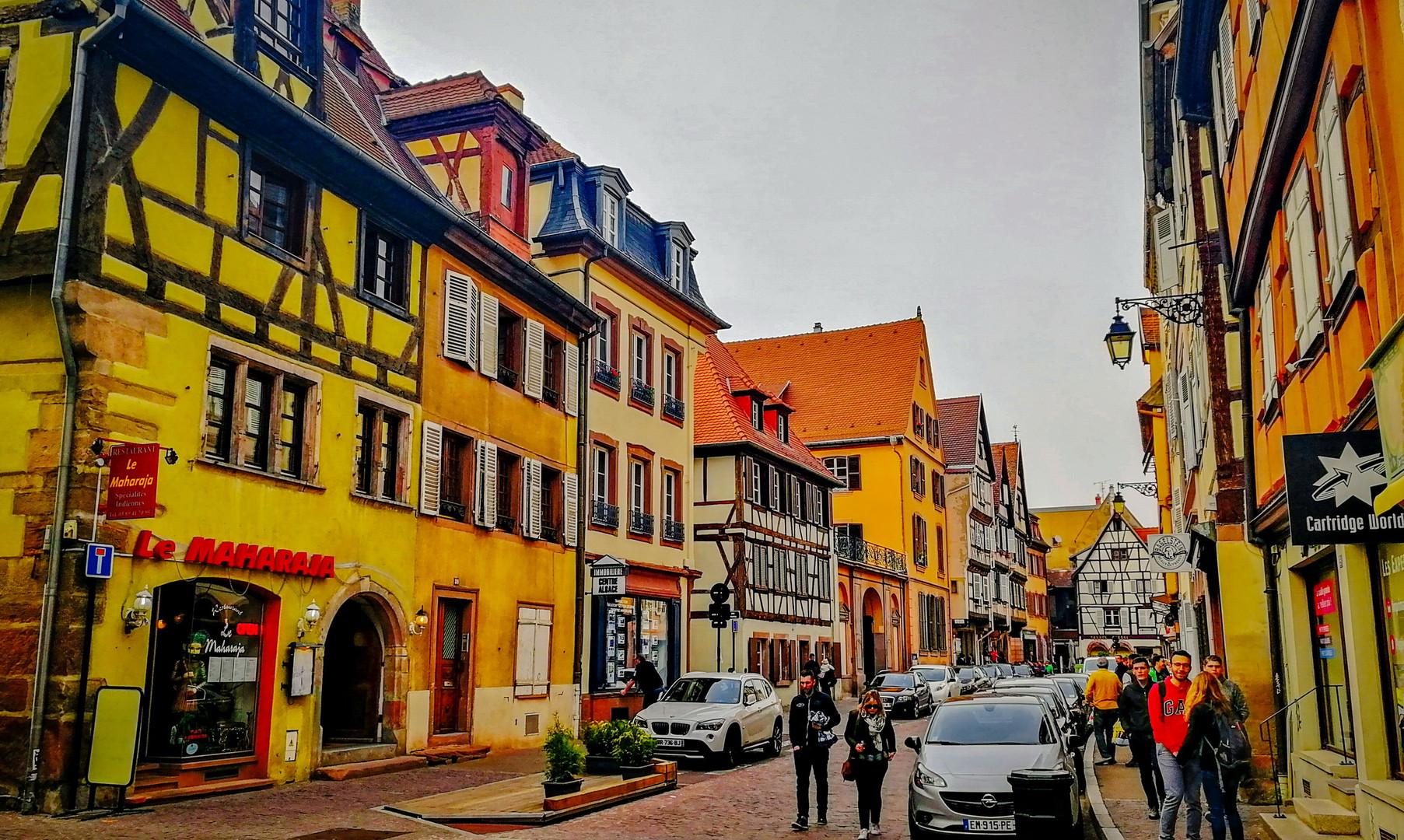 Старый город, Кольмар