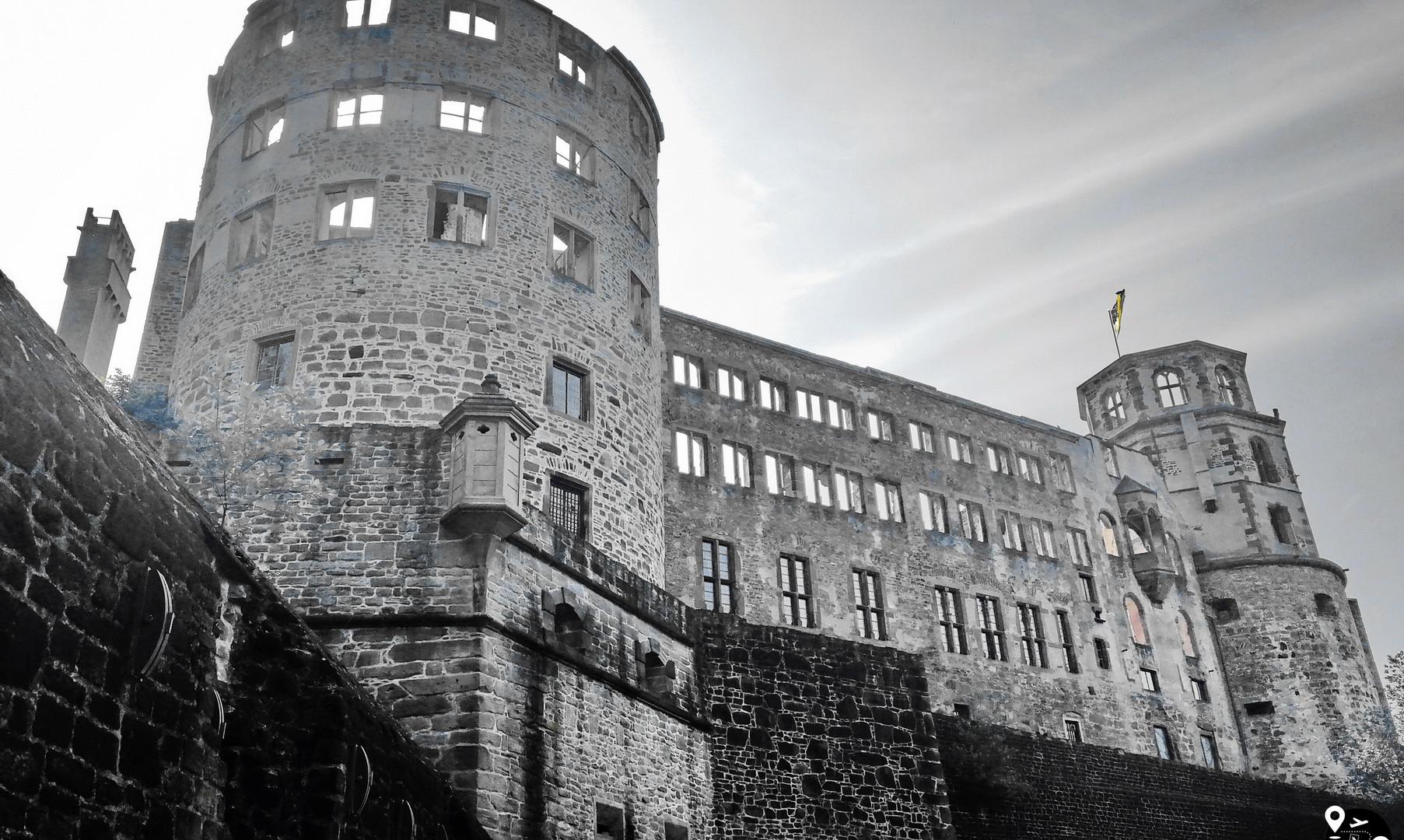 Гейдельбергский замок, Гейдельберг