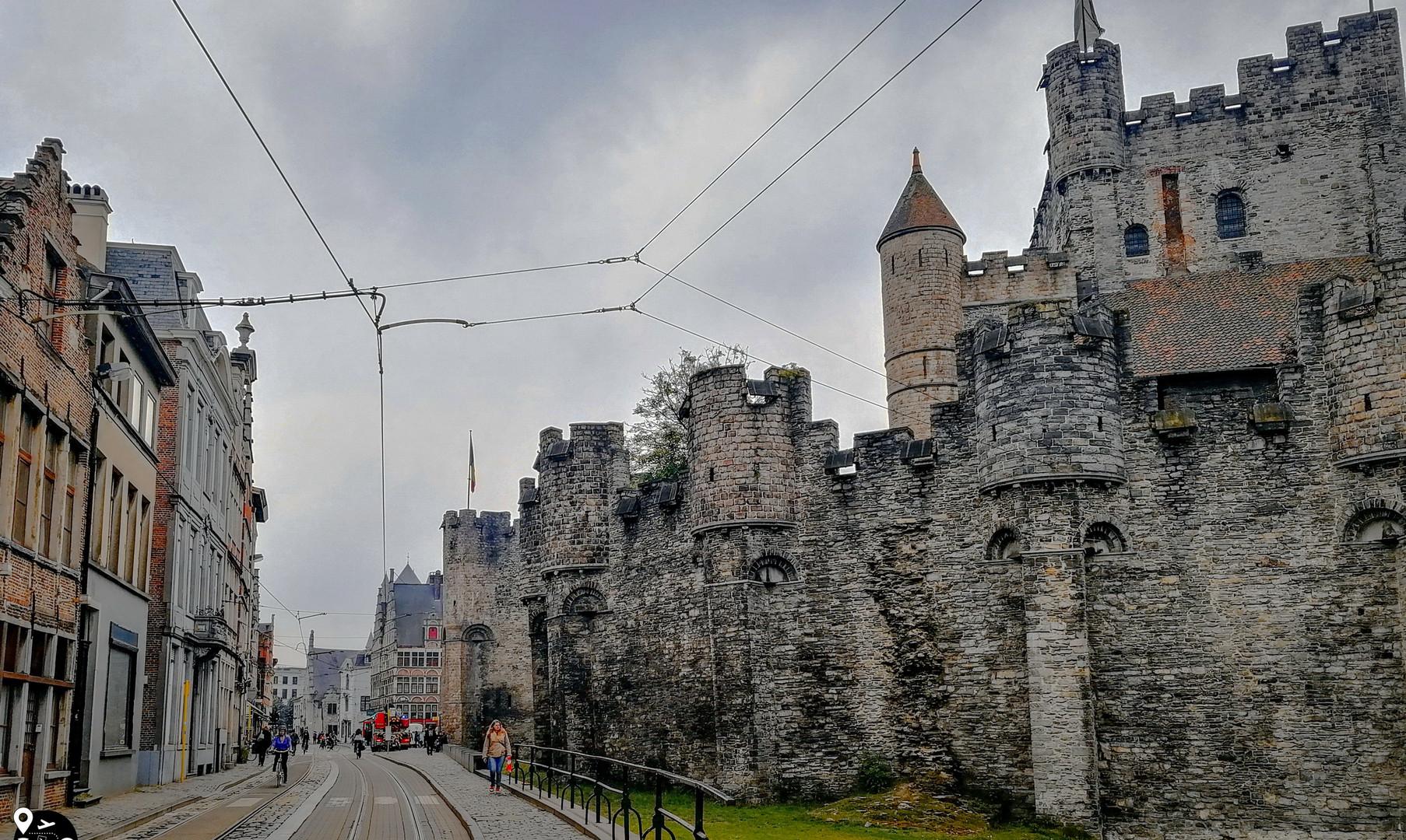 Замок Гравенштейн, Гент