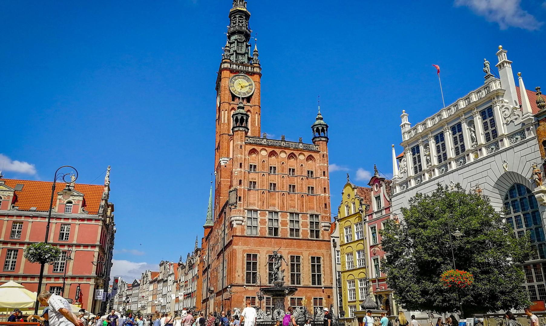 Городская ратуша в Гданьске