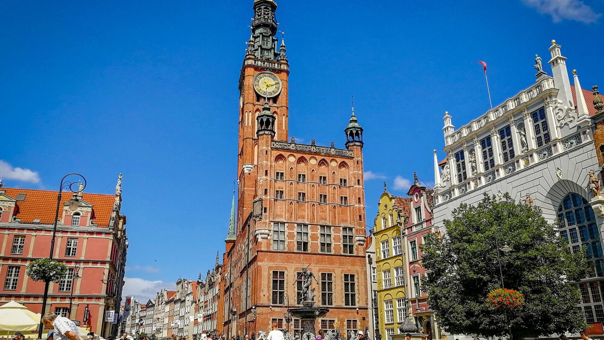 Старый город Гданьск