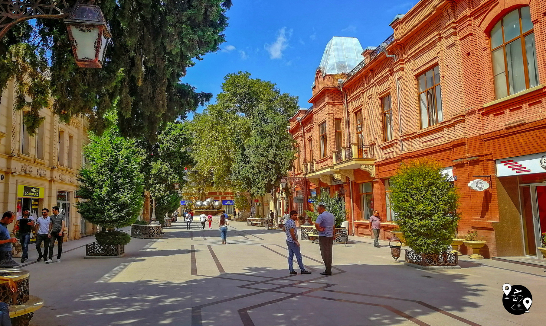 Центр города Гянджа