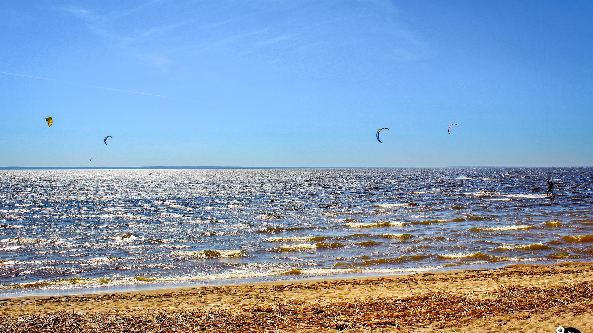 Пляжи Финского залива