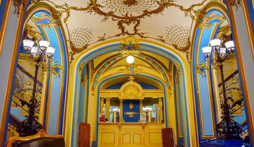 Сандуновские бани, Москва