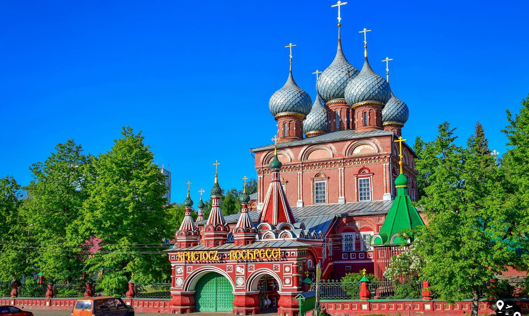 Resurrection Debre Church in Kostroma