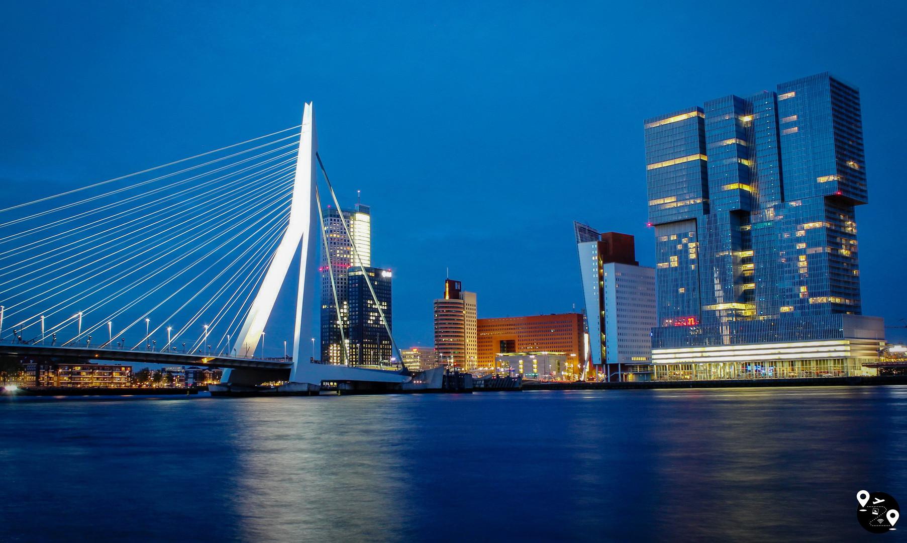 Мост Эразма, Роттердам