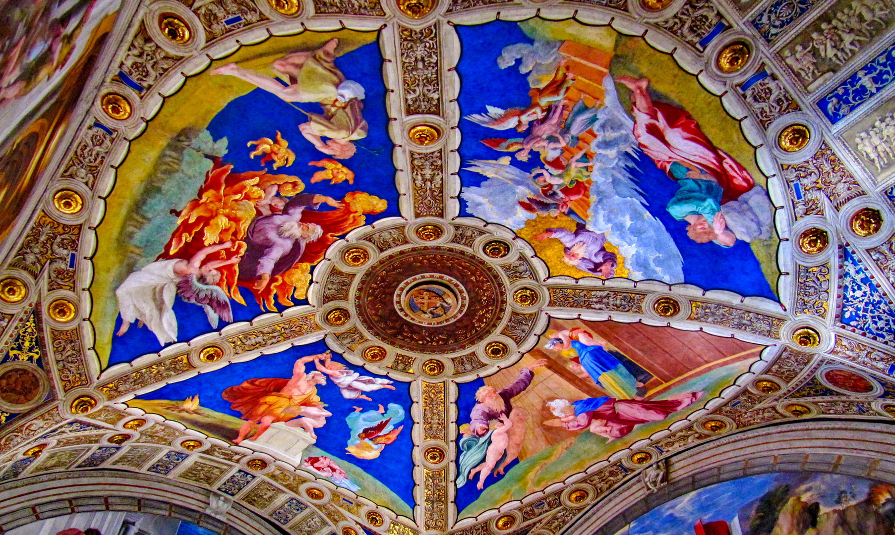 Апартаменты Борджиа в музеях Ватикана