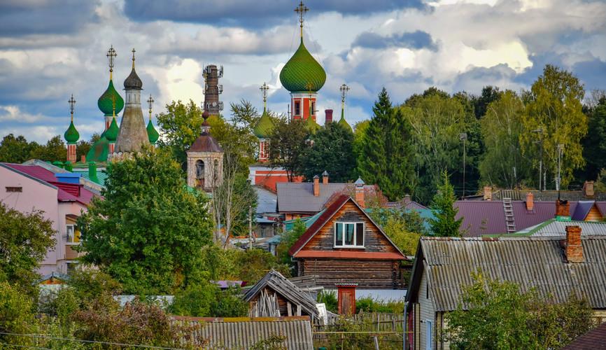 Панорама Переславля-Залесского