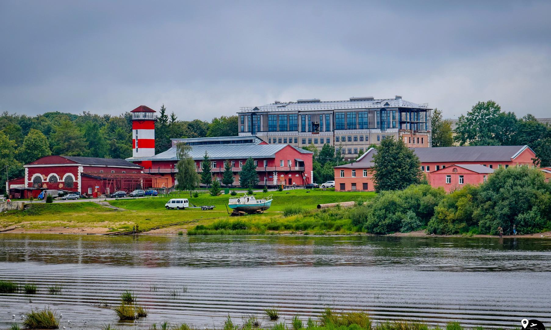Речной порт Великого Новгорода