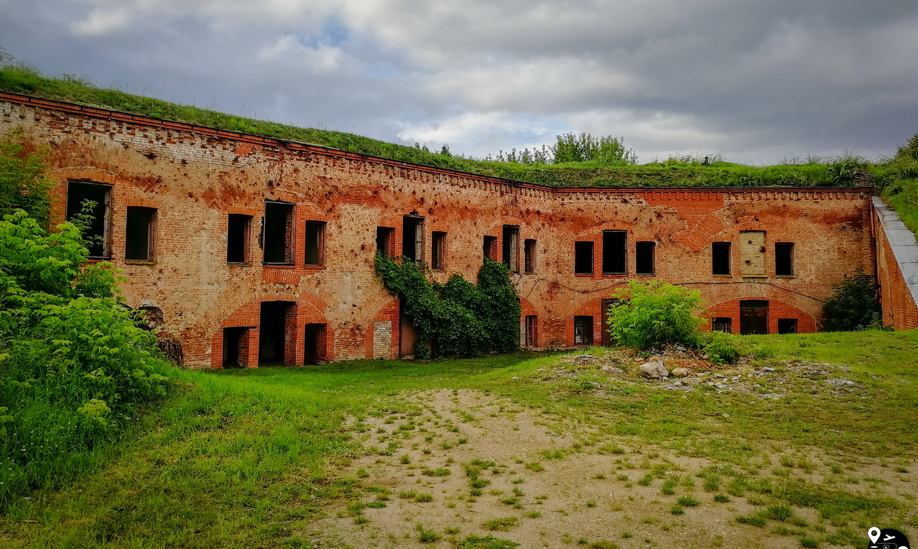 Руины фортов Брестской крепости, Брест