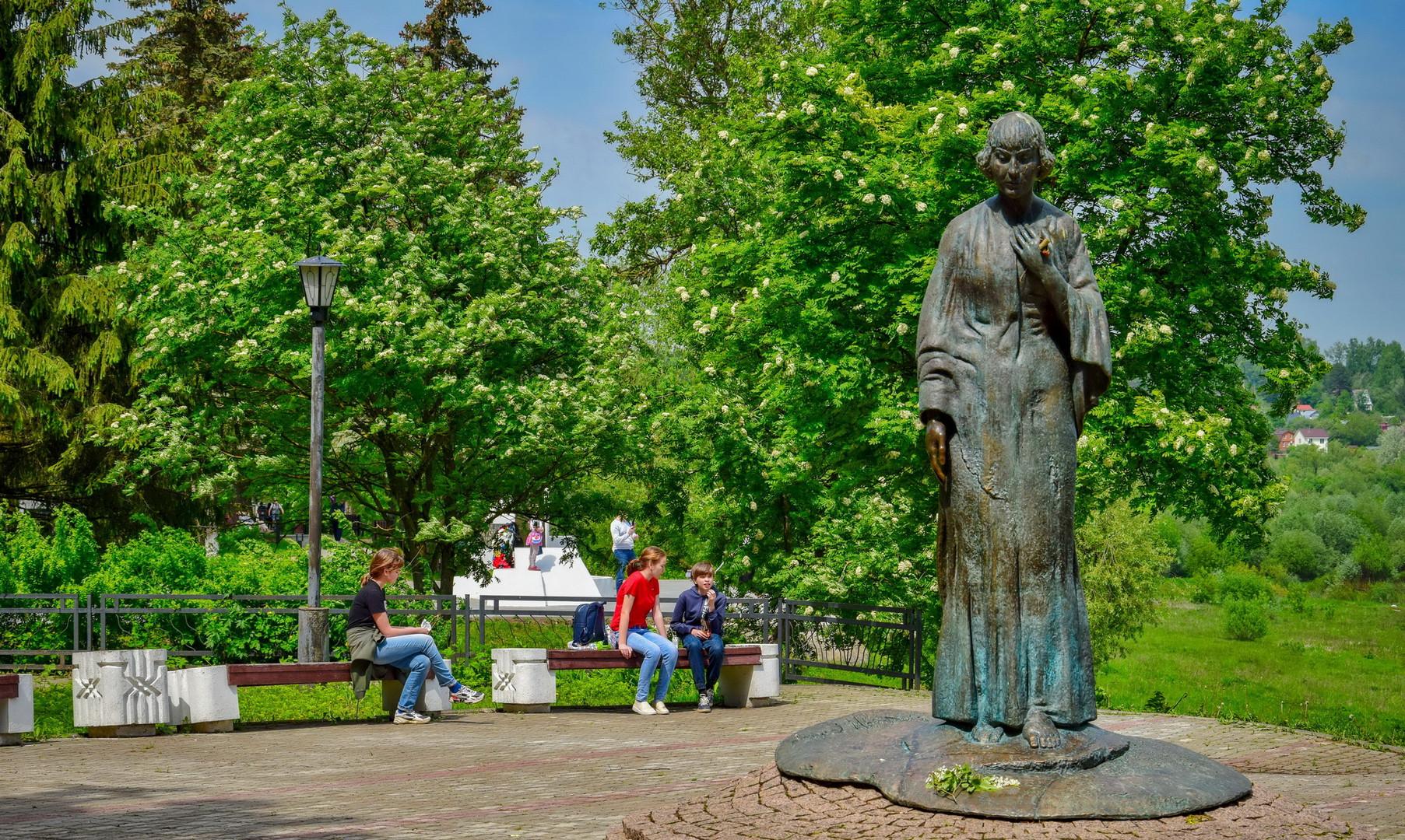 Памятник Марине Цветаевой, Таруса