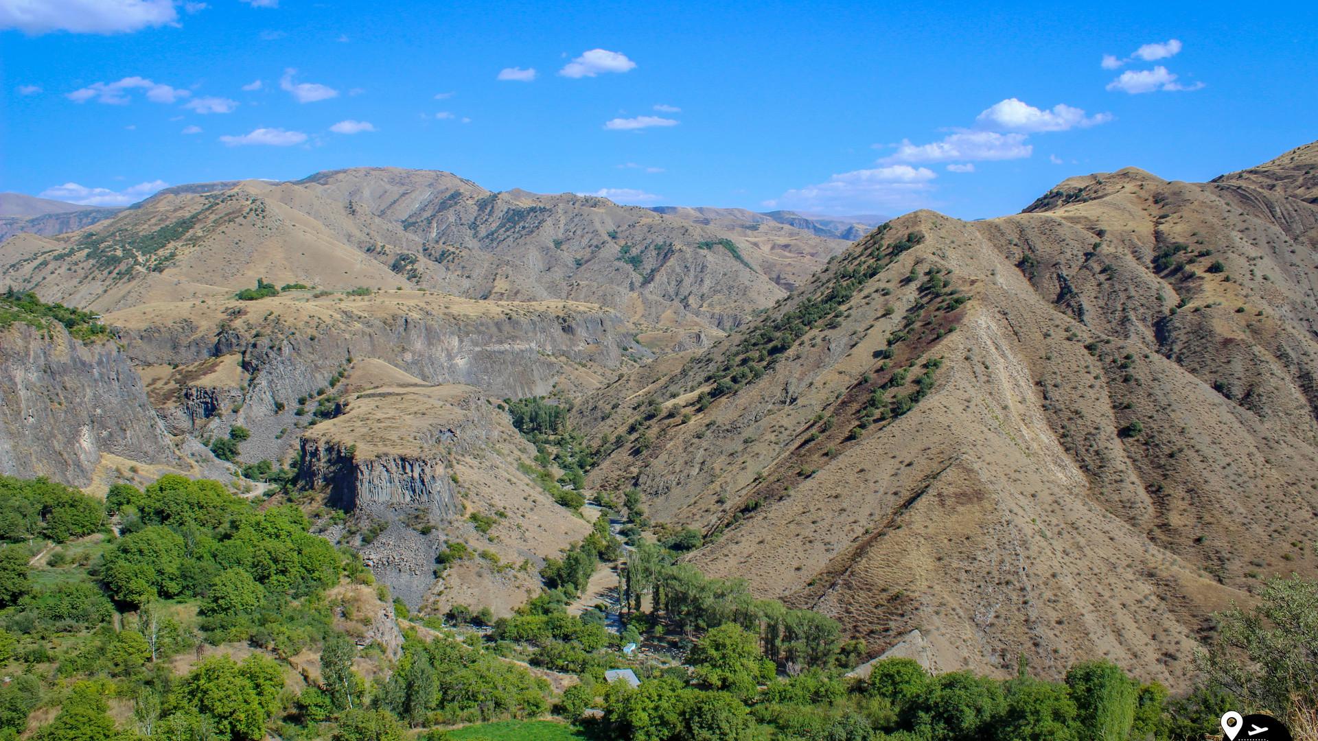 Пейзажи Армении