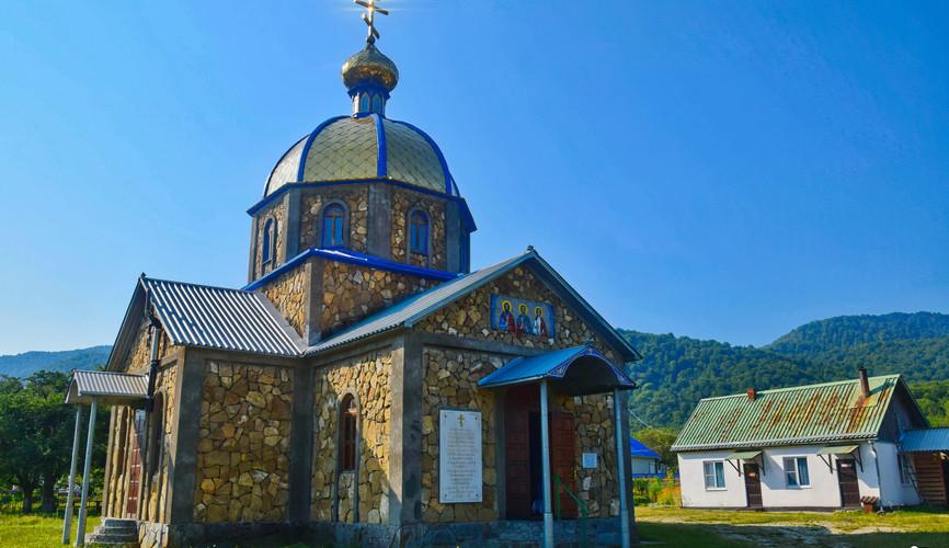 Церковь в Хамышках