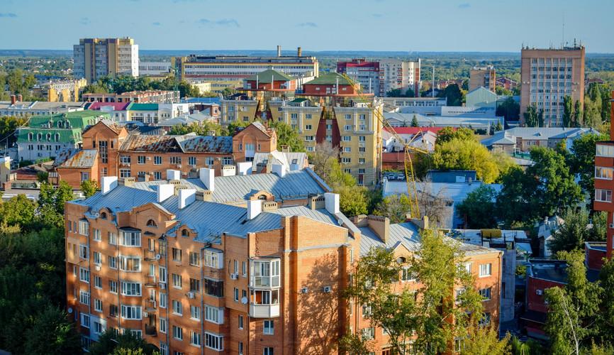 Панорама города, Рязань
