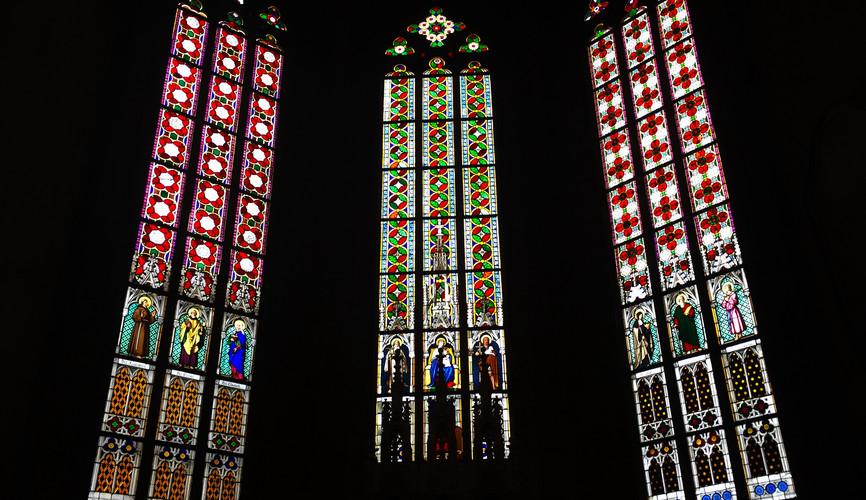 Витражи в Соборе Святого Вита, Прага