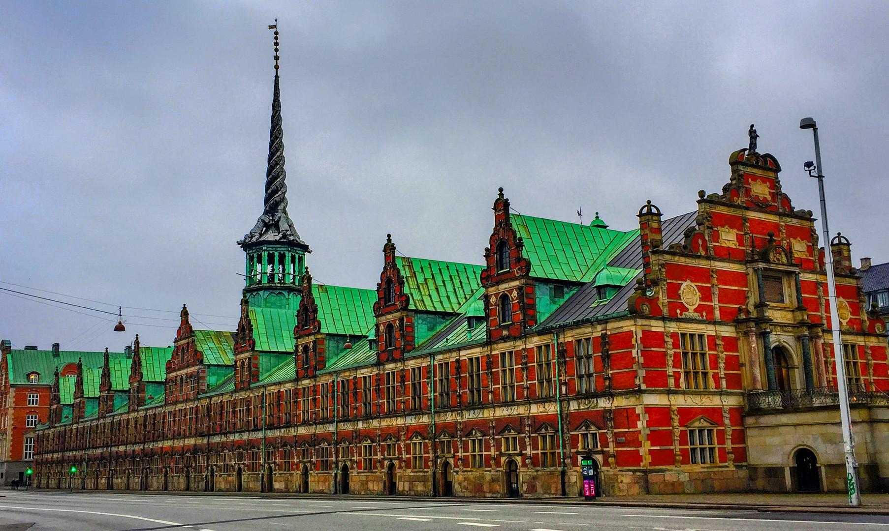 Здание старой биржи, Копенгаген