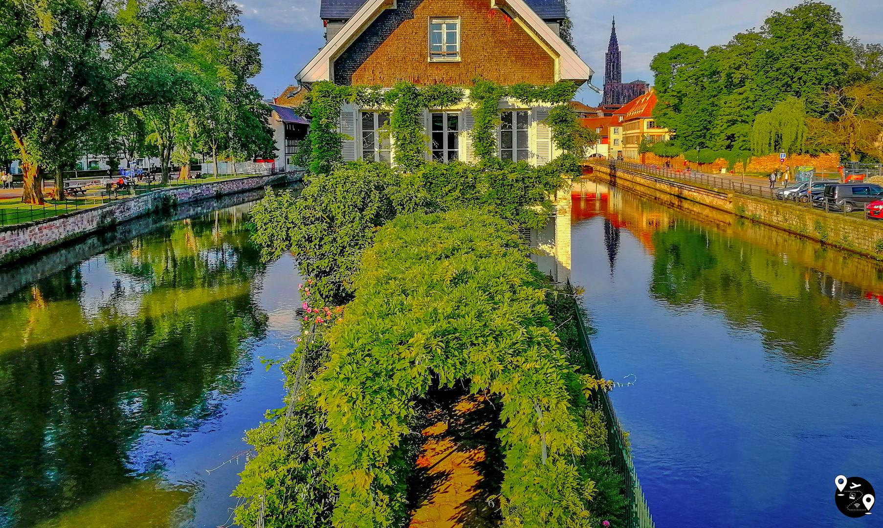 Каналы Маленькой Франции, Страсбург