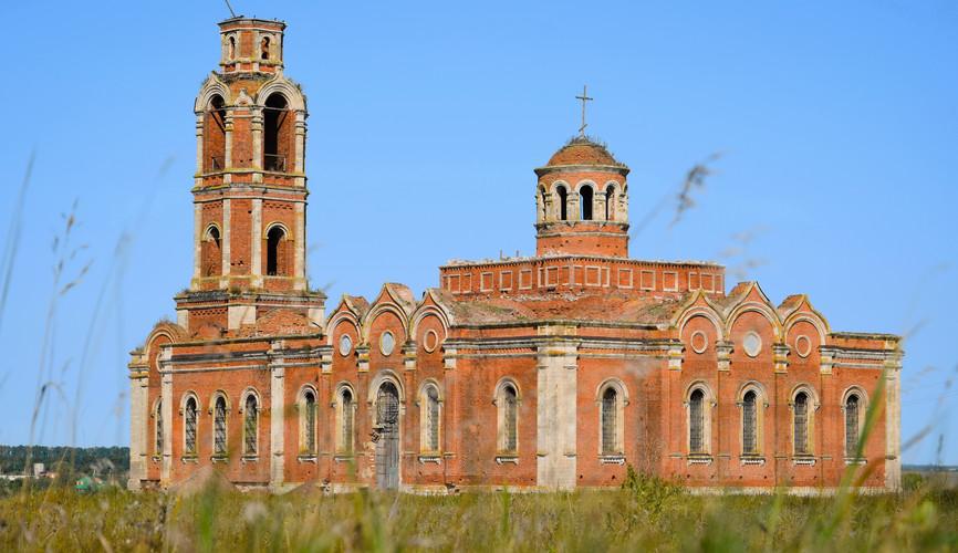 Церковь Иоанна Богослова в Хавертово